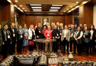 Fıdaf Türkiye Avrupa Konseyi Toplantısının Temsilcileri İle İlk Gün…